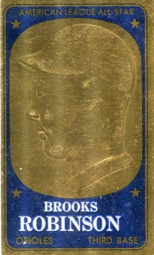 Photo of 1965 Topps Embossed #16 Brooks Robinson
