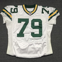 PCF - PACKERS RYAN PICKETT SIGNED AND GAME ISSUED PACKERS JERSEY - SIZE 50