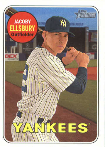Photo of 2018 Topps Heritage #27 Jacoby Ellsbury