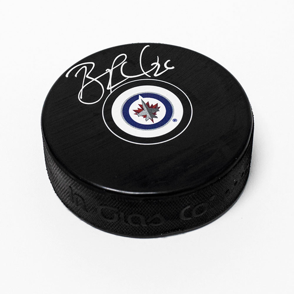 Blake Wheeler Winnipeg Jets Signed Autograph Model Hockey Puck
