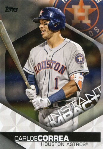 Photo of 2018 Topps Instant Impact #II21 Carlos Correa