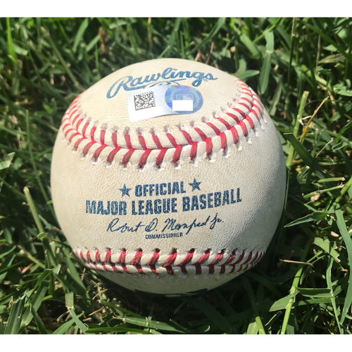 Photo of Cardinals Authentics: Game-Used Baseball Pitched by Clayton Kershaw to Harrison Bader *Strike out Swinging*
