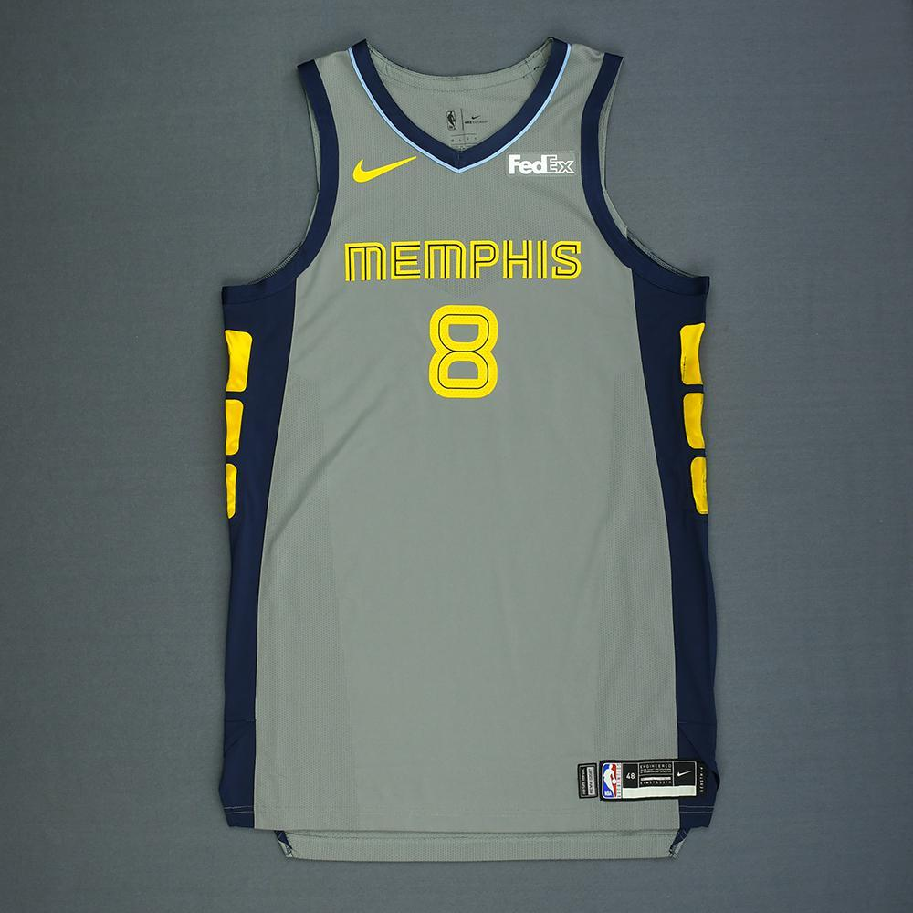 MarShon Brooks - Memphis Grizzlies - Game-Worn City Edition Jersey - 2018-19 Season