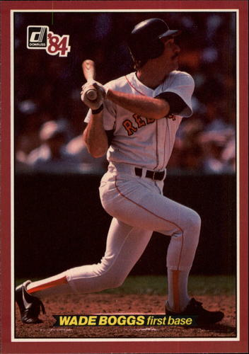 Photo of 1984 Donruss Action All-Stars #22 Wade Boggs
