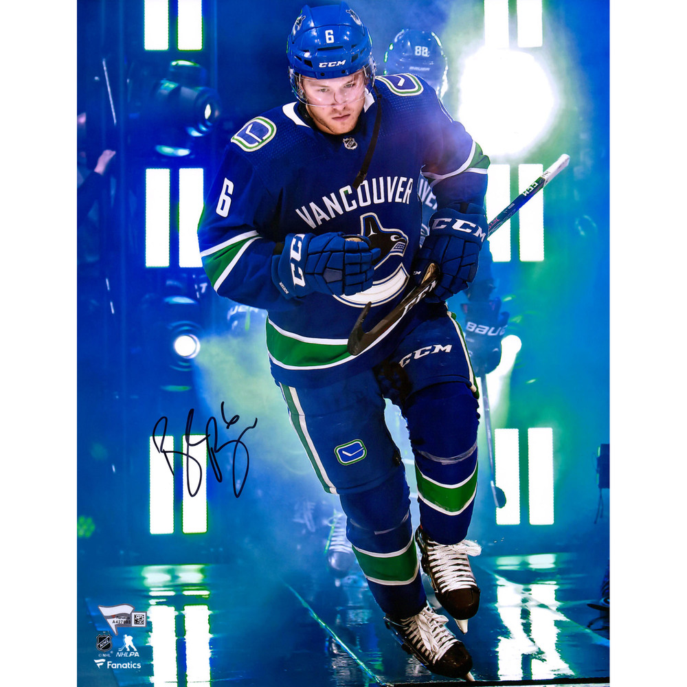 Brock Boeser Vancouver Canucks Autographed 11