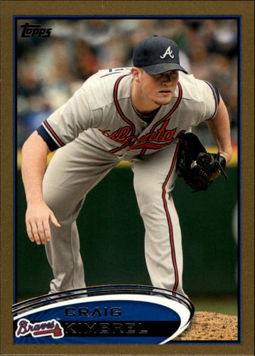 Photo of 2012 Topps Gold #20 Craig Kimbrel