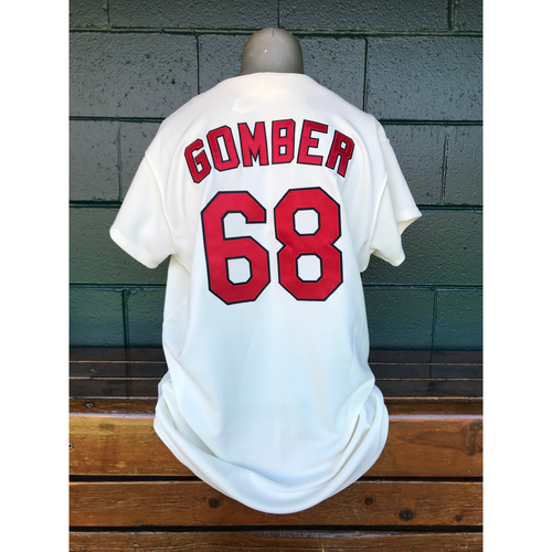 Photo of Cardinals Authentics: Game Worn Austin Gomber Turn Back the Clock Jersey