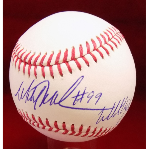 Photo of Mitch Williams Autographed Baseball