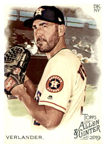 Photo of 2019 Topps Allen and Ginter #26 Justin Verlander