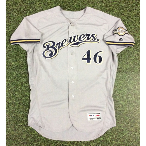 Photo of Corey Knebel 2018 Game-Used Opening Day Jersey