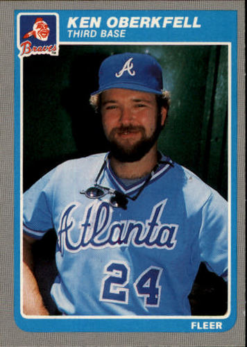 Photo of 1985 Fleer #336 Ken Oberkfell
