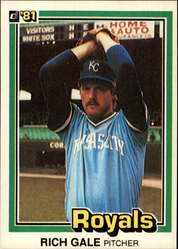 Photo of 1981 Donruss #462 Rich Gale