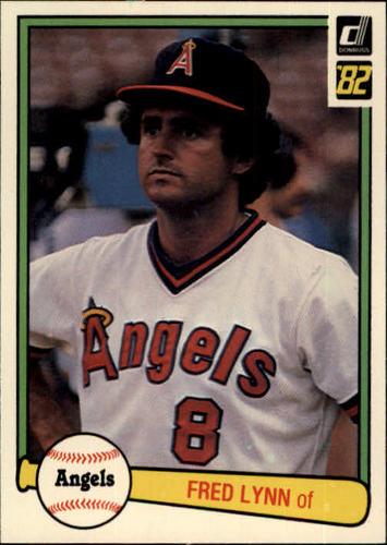 Photo of 1982 Donruss #367 Fred Lynn