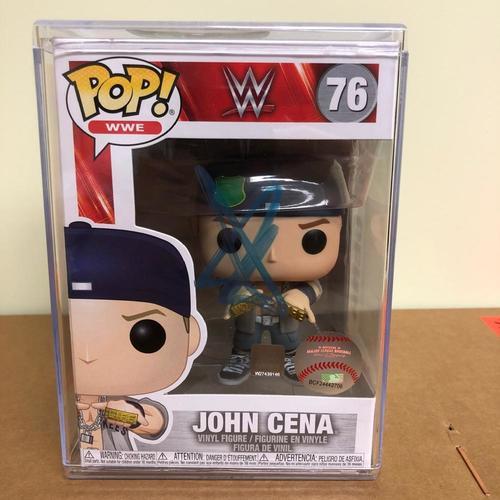 John Cena SIGNED Dr. of Thuganomics POP! Vinyl Figure