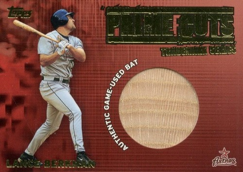 Photo of 2003 Topps Prime Cuts Trademark Relics #LB2 Lance Berkman 2