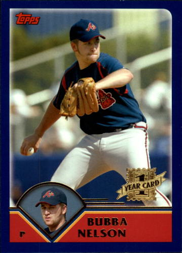 Photo of 2003 Topps Chrome Traded #T179 Bubba Nelson FY RC