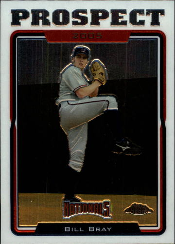 Photo of 2005 Topps Chrome Update #88 Bill Bray PROS