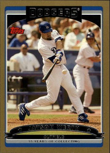 Photo of 2006 Topps Gold #109 Jayson Werth