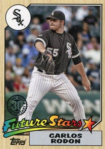 Photo of 2017 Topps '87 Topps #8722 Carlos Rodon