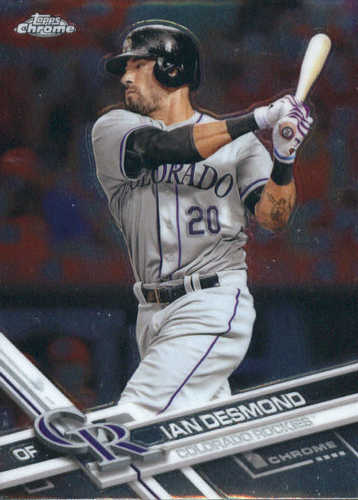 Photo of 2017 Topps Chrome #27 Ian Desmond