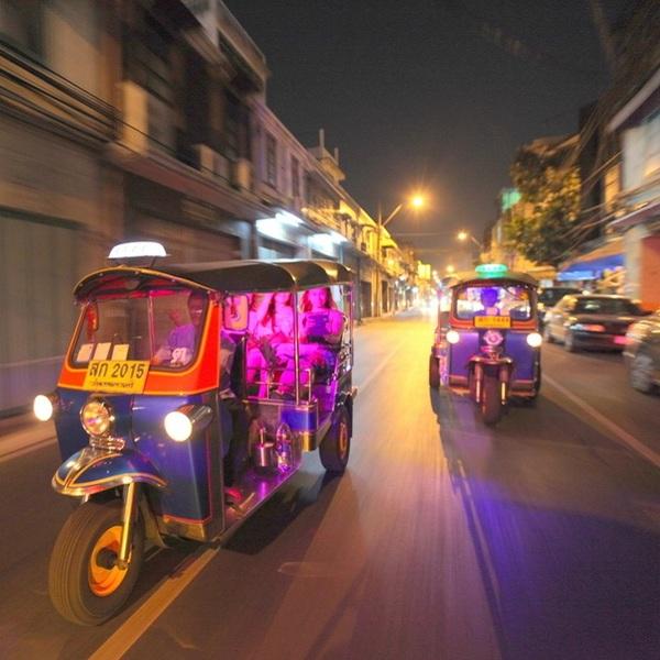 Photo of Nighttime Culinary Tuk Tuk Adventure Tour in Bangkok