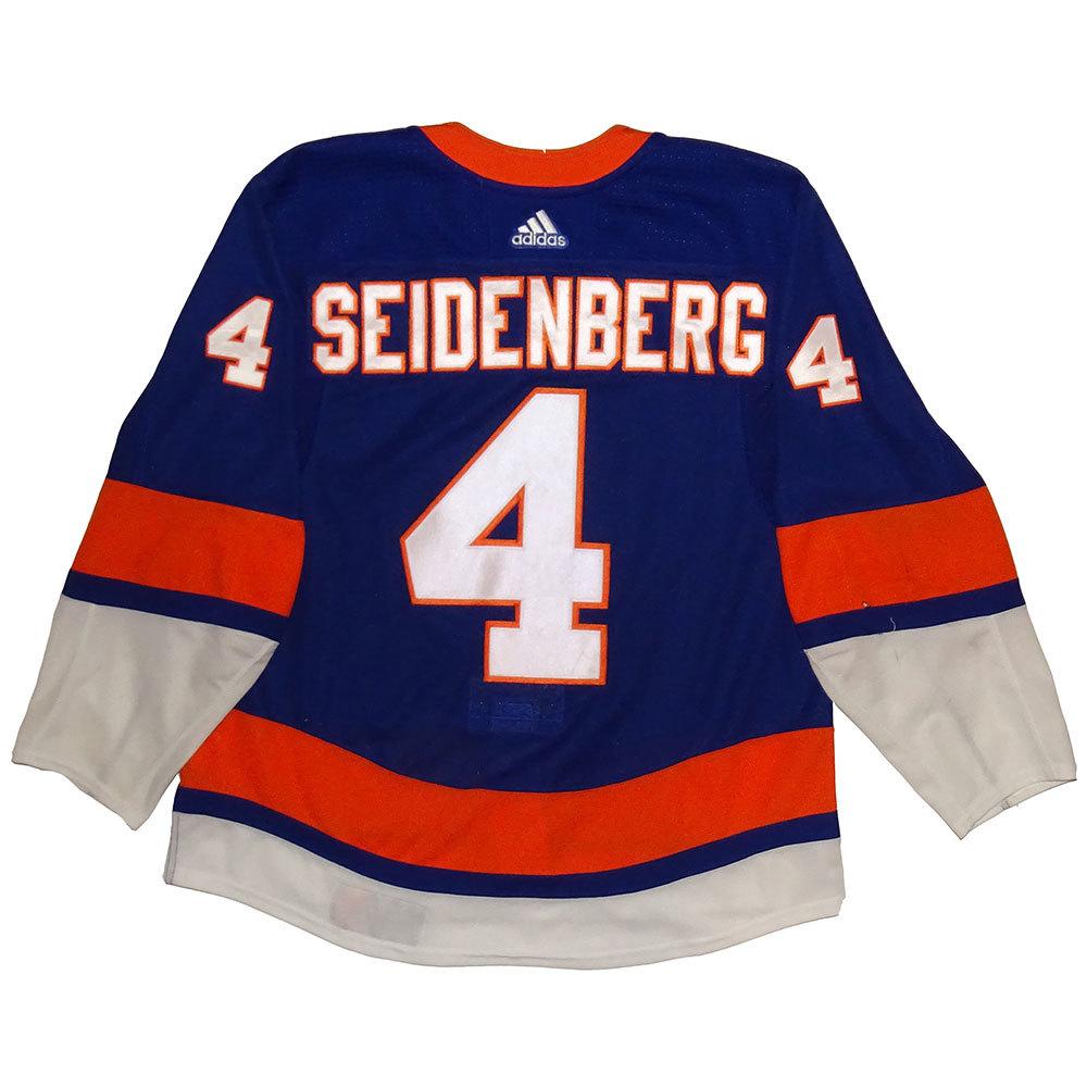 Dennis Seidenberg - Game Worn Home Jersey - 2017-18 Season - New York Islanders