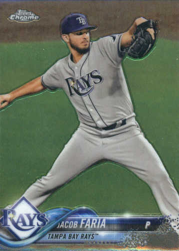 Photo of 2018 Topps Chrome #57 Jacob Faria