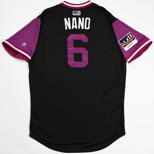 "Photo of Daniel ""Nano"" Castro  Colorado Rockies Team-Issued 2018 Players' Weekend Jersey"