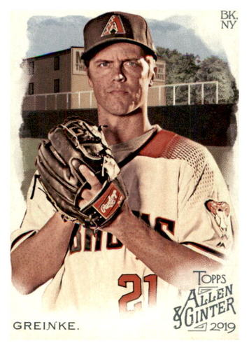 Photo of 2019 Topps Allen and Ginter #9 Zack Greinke