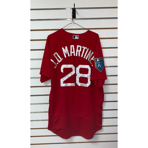 Photo of JD Martinez Team Issued 2018 Spring Training Jersey