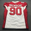 Crucial Catch - Cardinals Robert Nkemdiche Game Used Jersey Size 46 (10.14.18)
