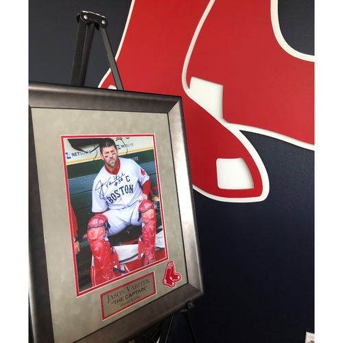 Photo of Autographed Jason Varitek Framed Picture