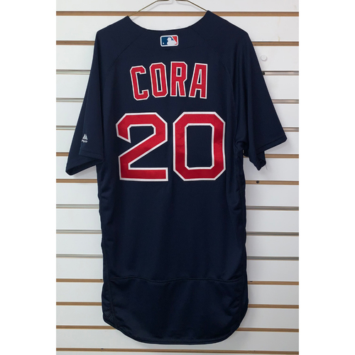 Photo of Alex Cora Team Issued 2018 Road Alternate Jersey