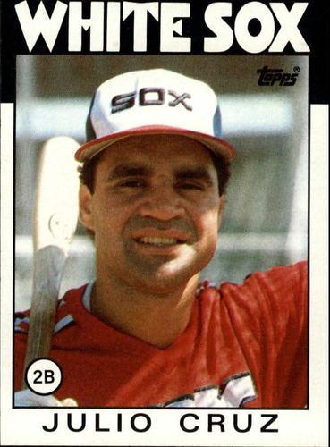 Photo of 1986 Topps #14 Julio Cruz