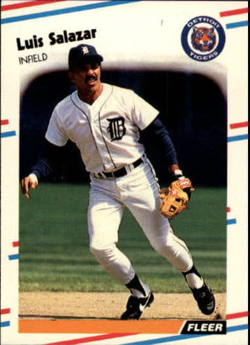 Photo of 1988 Fleer Update #30 Luis Salazar