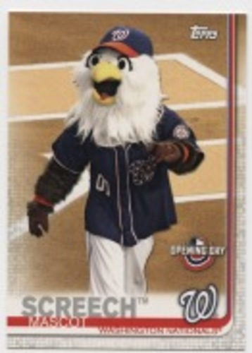 Photo of 2019 Topps Opening Day Mascots #M5 Screech