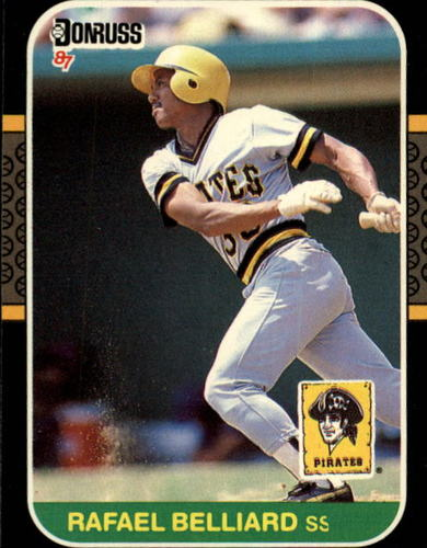 Photo of 1987 Donruss #538 Rafael Belliard RC