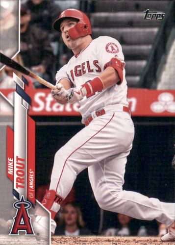Photo of 2020 Topps #1 Mike Trout