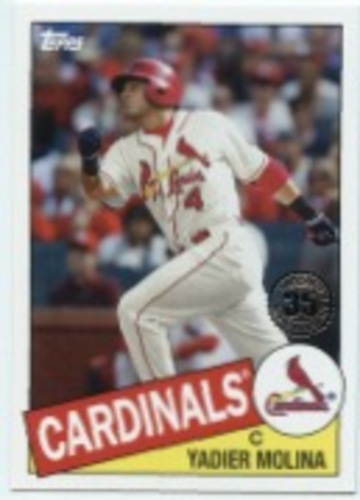 Photo of 2020 Topps '85 Topps #8593 Yadier Molina