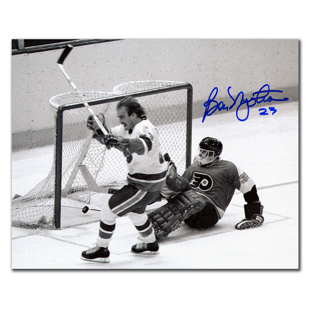 Bob Nystrom New York Islanders 1980 Stanley Cup GWG Autographed 8x10