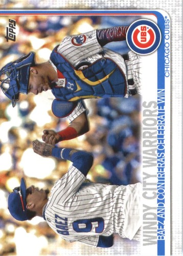 Photo of 2019 Topps #698 Windy City Warriors/Javier Baez/Willson Contreras