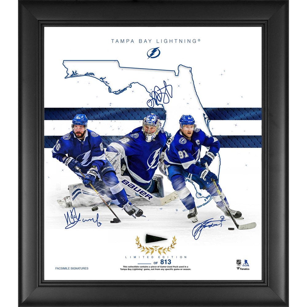 Tampa Bay Lightning Framed 15