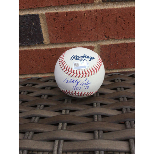 "Photo of Bobby Cox MLB Authenticated Autographed ""Hall Of Fame"" Baseball"