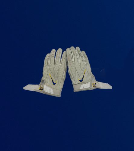 Aaron Donald Game Used Gloves - (11/1/2020 VS. Miami Dolphins)
