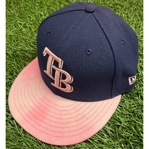 Photo of Team Issued Mother's Day Cap: Hunter Wood - May 12, 2019 v NYY