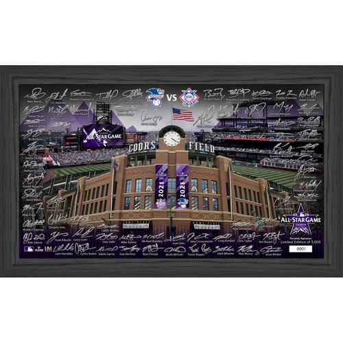 Photo of 2021 MLB All Stars Signature Field
