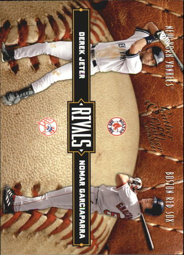 Photo of 2004 Leather and Lumber Rivals #1 D.Jeter/N.Garciaparra
