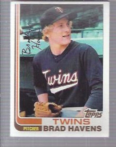 Photo of 1982 Topps #92 Brad Havens