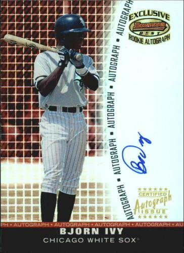 Photo of 2001 Bowman's Best Exclusive Autographs #BBEABI Bjorn Ivy