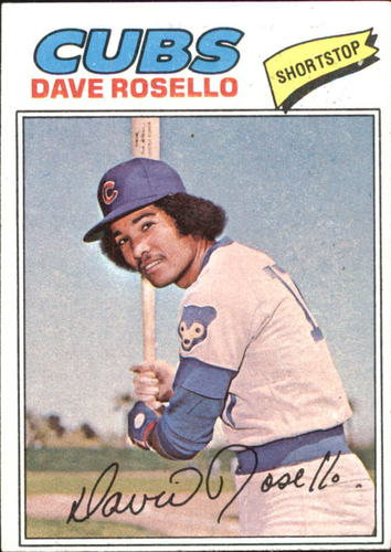 Photo of 1977 Topps #92 Dave Rosello